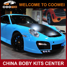 997 TH Style Fiberglass Car Bumper Body kit for Porsche 997(Front bumper, Rear bumper, Side skirts)