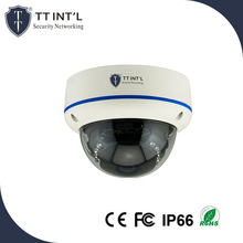 Small Dome 2MP IP Camera CCTV Rohs Conform Camera with Voice Recorder