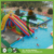 1.3mD mobile folding plastic above ground water swimming pool
