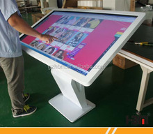Top quality 46 inch table digital signage kiosk , multi touch screen display