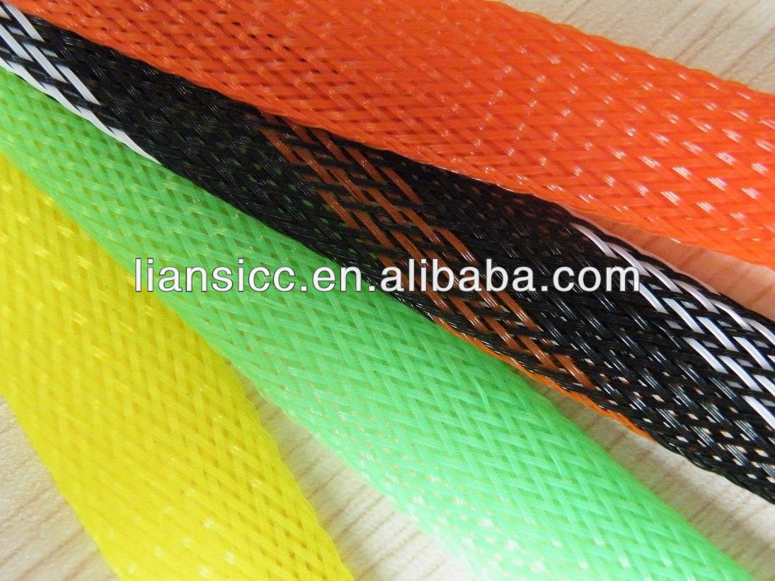 Fire resistant expandable braided sleeves,cable/hose braided sleeves