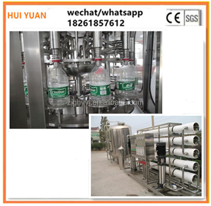 Full automatic drink water bottling plant