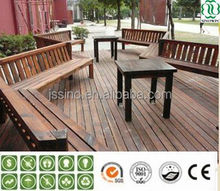 parquet flooring with wood plastic composite decking outdoor public/outdoor patio decking floor coverings