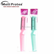 Alibaba wholesale Hair Salon knife comb, Plastic Hair Combs