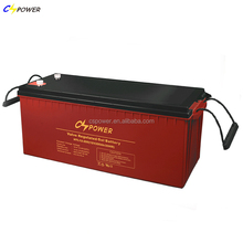 deep cycle gel battery 12v 200ah for inverter /solar panel /charger controller system