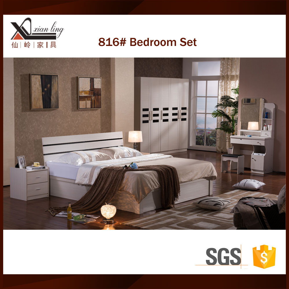 Modern furniture bed room set buy bed room furniture bed for Second hand bedroom furniture