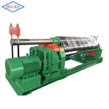hand operated 3 roller plate bending machine