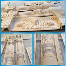 Architectural decoration cast stone