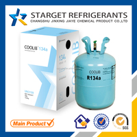 Auto gas refrigerant r134a with disposable cylinder for commercial air conditioner gas