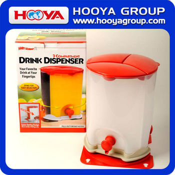 Plastic Drink and Juice Soft Drinks Dispenser Machine