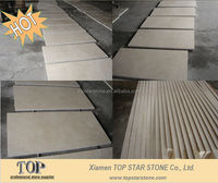 Honed Light Beige Marble cut to size for interior floor tile
