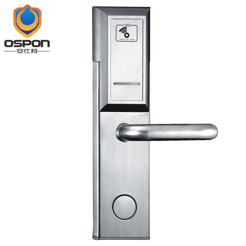 Ospon Zigbee Wireless Lan Rfid Mifare 1 Hotel Door Lock