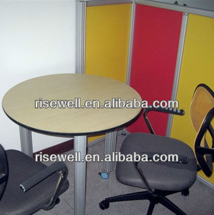 Custom made formica laminate top office dining table