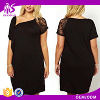 Latest design wholesale china trendy style ladies sexy fat women dresses