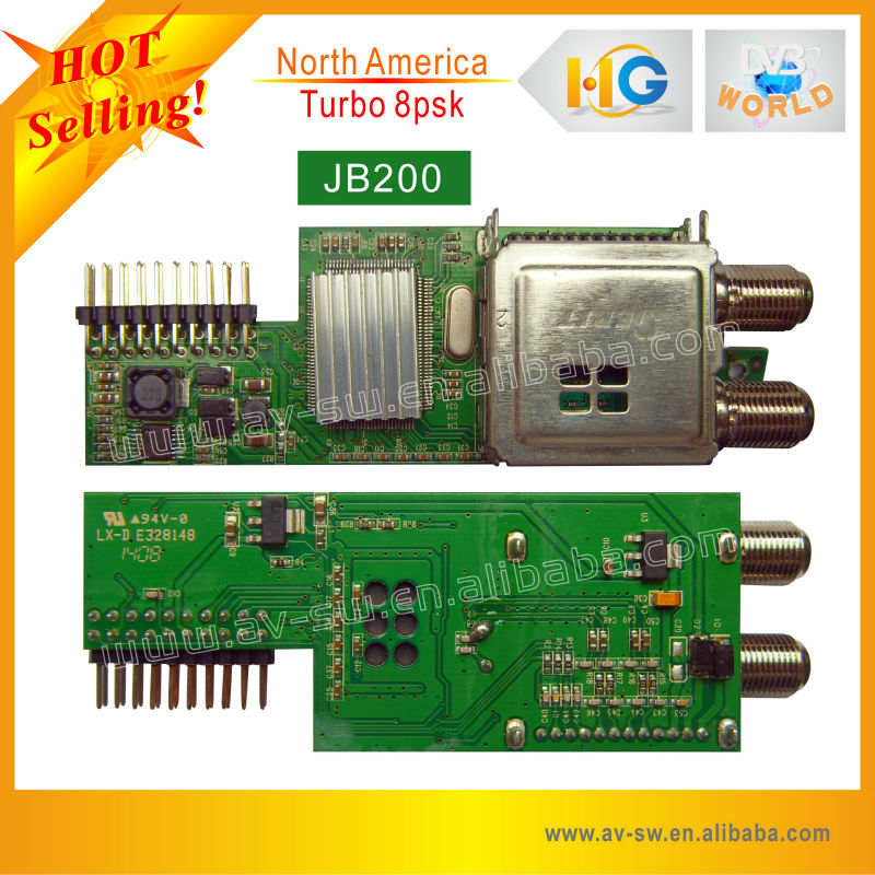 turbo 8psk JB200 for north america 8psk module jb200 for jyazbox jynxbox