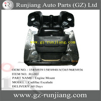HOT SALE Auto Part Engine Mount for Cadillac Escalade OEM NO.15854939/15854940/A5365/96854936 (GM Part)