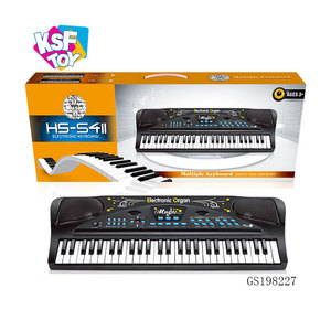 usb piano keyboard for pc with 54 key and microphone