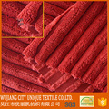 red color fresh wide wale furniture corduroy/sofa fabric