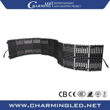 Stage Decorations LED Flexible Soft Video Curtain Led Matrix Display