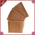 Promotion high quality living room hotel clothes basket box rattan storage baskets
