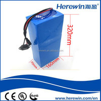 2016 hot sale electric vehicle 60v 20ah lifepo4 battery pack with safety shipping