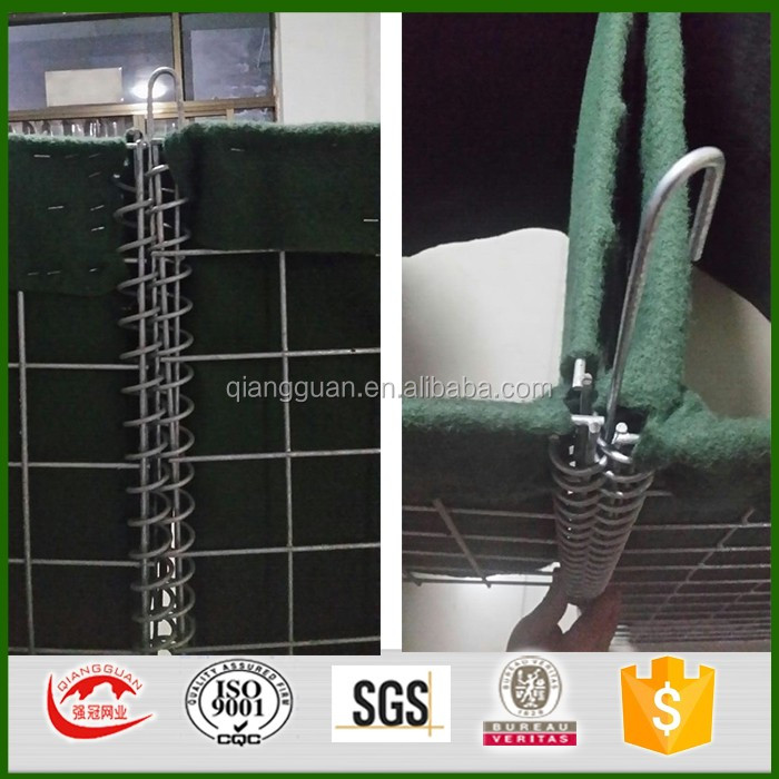 galvanized blast wall hesco barriers price/hesco barrier mil 1