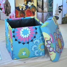 Comfortable fabric pouf & cushion covers
