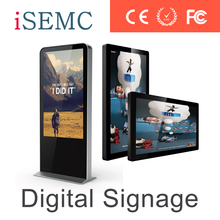 High definition retailing store electronic advertising led display screen digital banner HDMI