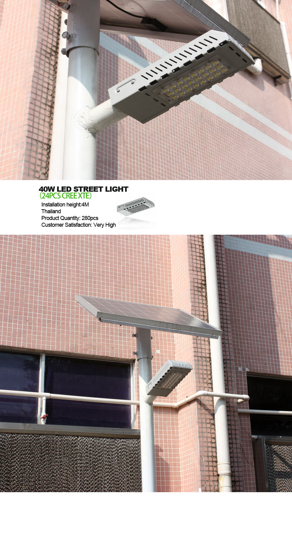Elegance Series Street light 30W high class design 60W