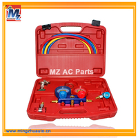 Air conditioning tool kit,Air condition parts tool,Air conditioning tool kit Manifold Gauge