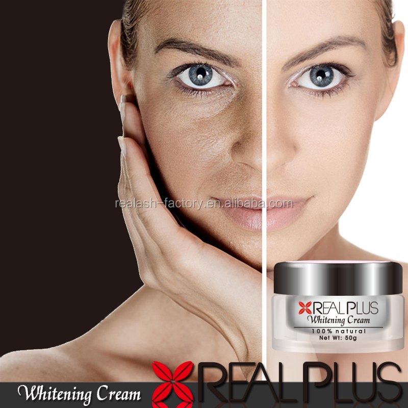 OEM Manufacturer Very Effective Speckle Removing Whitening Moisturizing REAL PLUS Beauty Face Cream