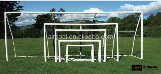 Professional soccer football equipment Inflatable goal football factory