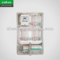 MB electronic 3-phase or 1-phase plastic meter box