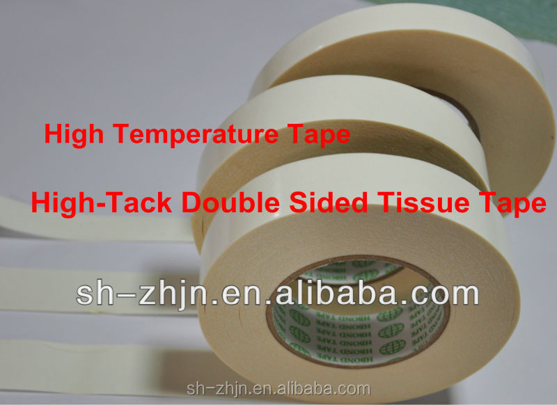 Strong viscose Water soluble paper tape Double Sided Tissue Adhesive Tape