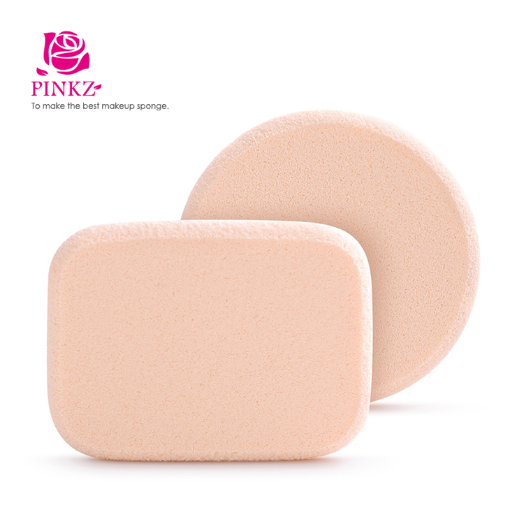 Non Latex Soft Expandable Disposable Puff / Beauty Makeup Sponge Blending Sponge Puff Factory Price