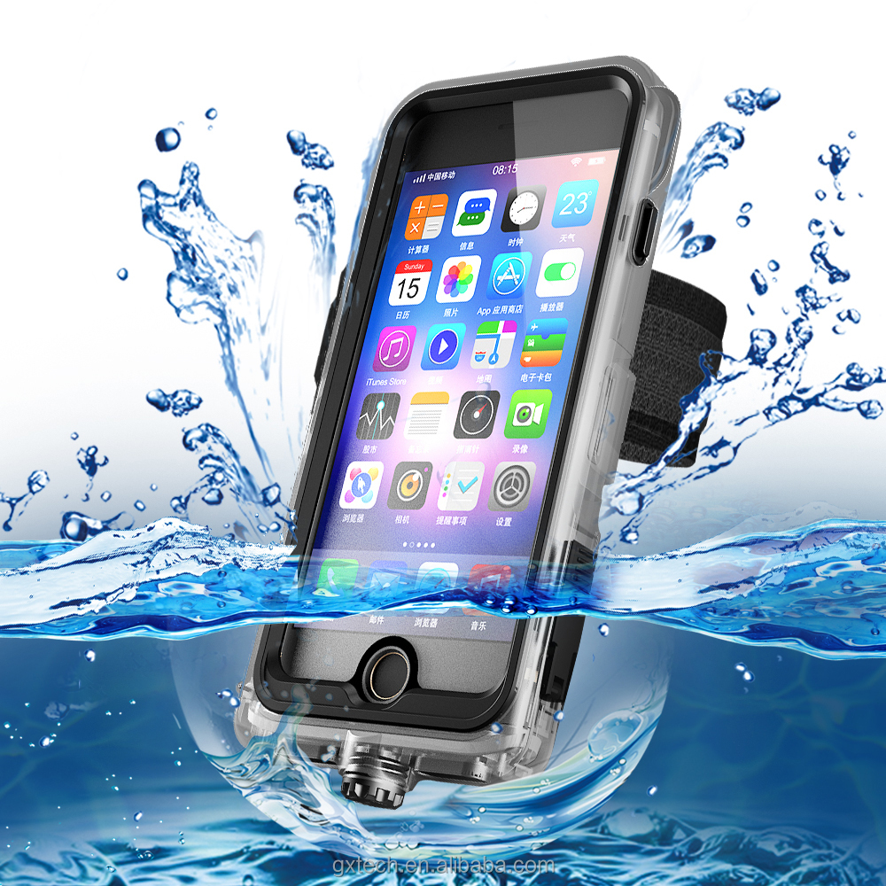 New Style Function Armband Holder Stand Waterproof Case For iPhone 7 7 Plus