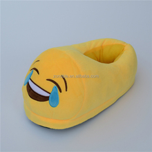 Wholesale cartoon emoji slipper emoji shoes fashion cute soft plush emoji slippers