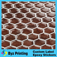 Design your own gel material picture of tile in mosaic