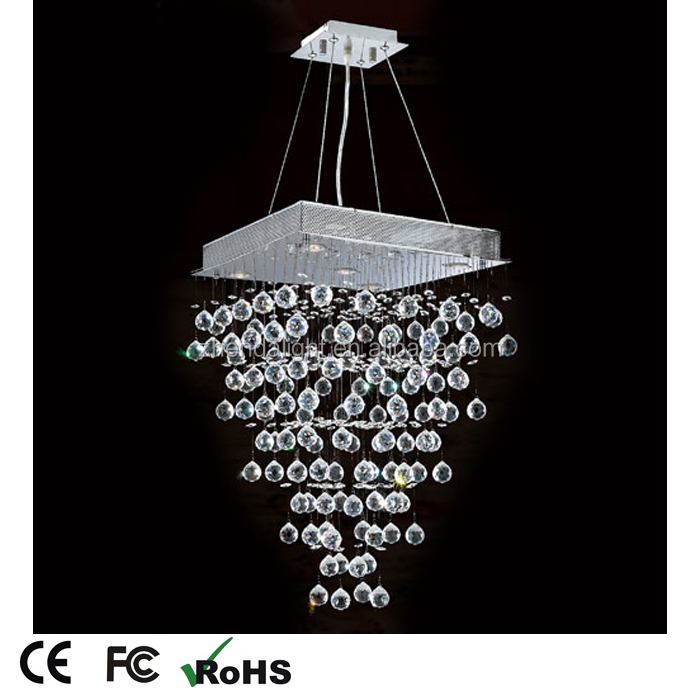 New hotel decorative bubbles hanging glass crystal pedant light