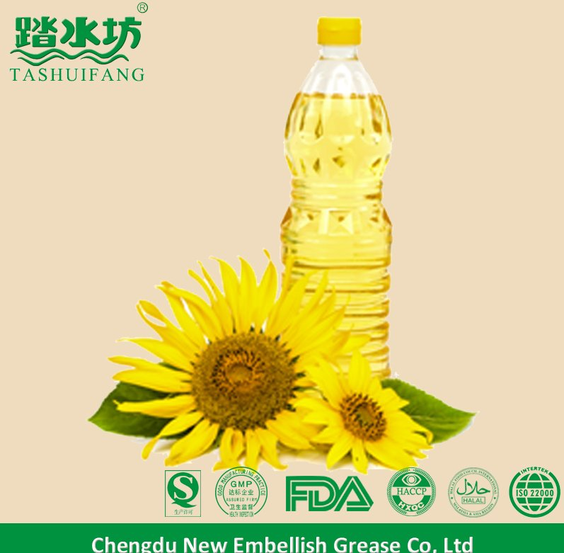 Cooking use edble oil sunflower oil