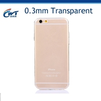 Soft tpu wholesale clear phone case for iphone 6,CWT wholesale clear phone case