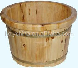 hot sale wooden buckets for sale