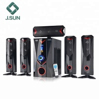 5.1 channel Home Theater Speaker Systems Subwoofer speakers fm audio with woofer
