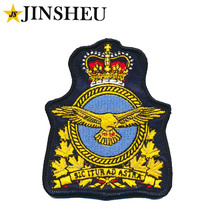 custom embroidery woven royal military canadian navy badges