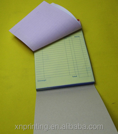 A5 carbonless clear duplicate invoice waybill books