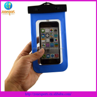 Waterproof case for cell phone iphone5 waterproof pvc phone bag