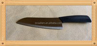 Best quality assured 7 inch Advanced Ceramic Black Blade Mirror Chef knife