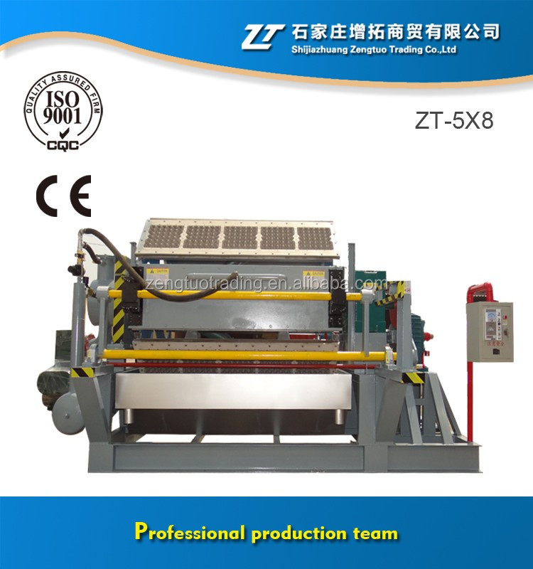 Automatic Moulded Pulp Egg Tray Machine with Youtube Video