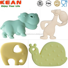 Food Grade Baby Boy And Girl Teether Natural Rubber Toys