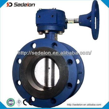 2016 Industrial high quality Wafer Butterfly Valve